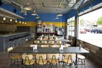 Jones Baker helped turn a former Greenville Avenue service station into the original Rusty Taco