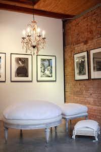 Healey Grisham's first-floor gallery.