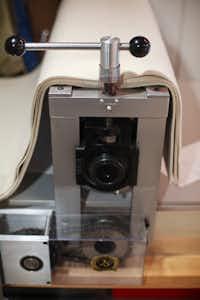 A Takach Press miniature printing press