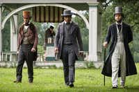 McNairy (left, with Chiwetel Ejiofor and Taran Killam in 12 Years a Slave) had no plans on being an actor when he moved to Hollywood.(Jaap Buitendijk - Fox Searchlight)