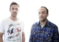 """Director Derek Cianfrance (right, with Ryan Gosling) says, """"You try to avoid your destiny and you end up crashing into it."""""""
