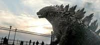 "A scene from ""Godzilla."" The remake of Godzilla, opening Friday, is a cautionary tale in a vein similar to the original 1954 movie.(Warner Bros. Pictures)"