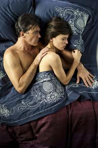 "Antonio Banderas (left) and Elena Anaya are shown in a scene from the film, ""The Skin I Live In."""