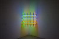 """Dan Flavin, """"Untitled (for you Leo, in long respect and affection) 4"""", 1978"""