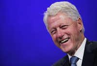 Former U.S. President Bill Clinton credited veganism for his  24-pound weight loss. He adopted the plant-based diet for health reasons.(Mark Lennihan)