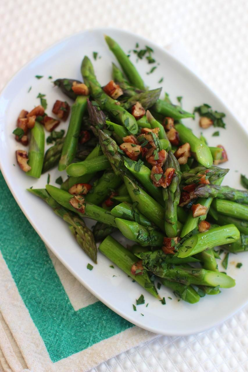 Brown Butter Asparagus With Pecans Recipes Dallas News