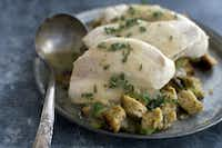This recipe is a quicker way to enjoy Thanksgiving turkey.