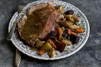 Not that: Standing rib roast(Matthew Mead - AP)