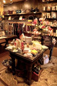 Francesca's Collections carries scarves. slippers and decor that might appeal to Grandma.