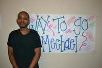 Mechael Abraham was the first in his family to graduate from high school in the U.S. when he attended Heritage High School's graduation on June 6 in Frisco. Mechael has been diagnosed with cancer twice and is currently in remission after his last bout during his junior year when a tumor developed in his hip area.