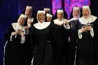 """Sister Act, A Divine Musical Comedy,"" will be new to Dallas. The show runs June 4-16, 2013 at the Fair Park Music Hall. Here, the Broadway cast performs during the 2011 Tony Awards.(Jeff Christensen)"