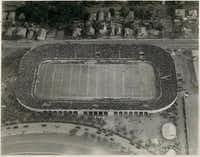 Before the Cotton Bowl, Fair Park Stadium -- which is seen here in October 1923, when the University of Texas shutout Vanderbilt 15-0.