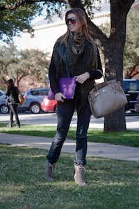 Nina Thiel, a senior at SMU