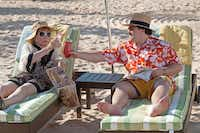 Shirley MacLaine played Marjorie Nugent and Jack Black was Bernie in the movie directed by Richard Linklater. Linklater will house Tiede in Austin.File 2012  -  Deana Newcomb