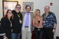 John Wayne Film Festival chairs Anne and Steve Stodghill, John Wayne's children Patrick and Marisa Wayne and Lee Papert, president and CEO of the Dallas Film Society gather for a photo at the Dallas International Film Festival screening of Stagecoach at the Texas Theatre on April 13. Patrick and Marisa Wayne were present to accept the Dallas Film Society's Dallas Star Award for their late father and American film actor John Wayne.(Photo submitted by MARC LEE)
