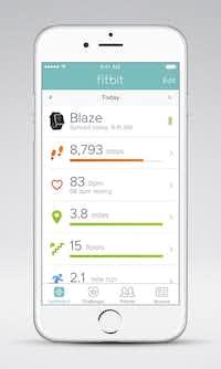 Fitbit app on iOS( Fitbit )