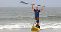 Give Stand Up Paddle surfing a try.