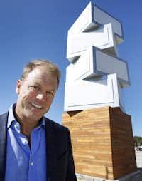 Developer Kirk Hermansen envisions up to seven restaurants at the site.(Louis DeLuca - Staff Photographer)
