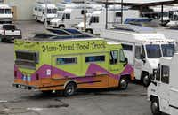 A colorful Yum-Yum truck can be seen in Grand Prairie. Dallas' City Council is scheduled to vote Wednesday on whether to allow gourmet food trucks in the Arts District.