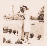 Paul and Dorothy Fouts  pose for a snapshot in the early 1940s.Photo submitted by ROSEMARY ANDERSON