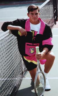 Michael Fowler took to tennis instantly as a teenager, but he once used money for a new racket to buy drugs.
