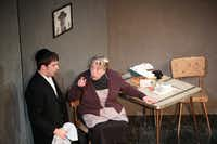 """""""Division Avenue,"""" starring Jake Buchanan (left) and Nancy Sherrard, explores familial relationships in a Brooklyn Hasidic community."""