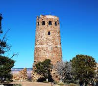 On a half-day  excursion to Desert View, climb the watchtower and peek out to see the view. The Tusayan Museum informs visitors about ancestral Puebloan people.(Larry Burmeier - Special Contributor)