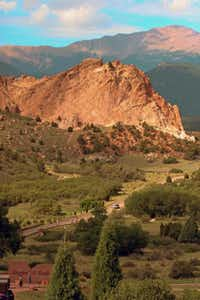 Charles Elliott Perkins, head of the Burlington Railroad, bought 480 acres that included part of today's Garden of the Gods. His family gave the land to the city of Colorado Springs upon his death.John H. Ostdick  -  Special Contributor