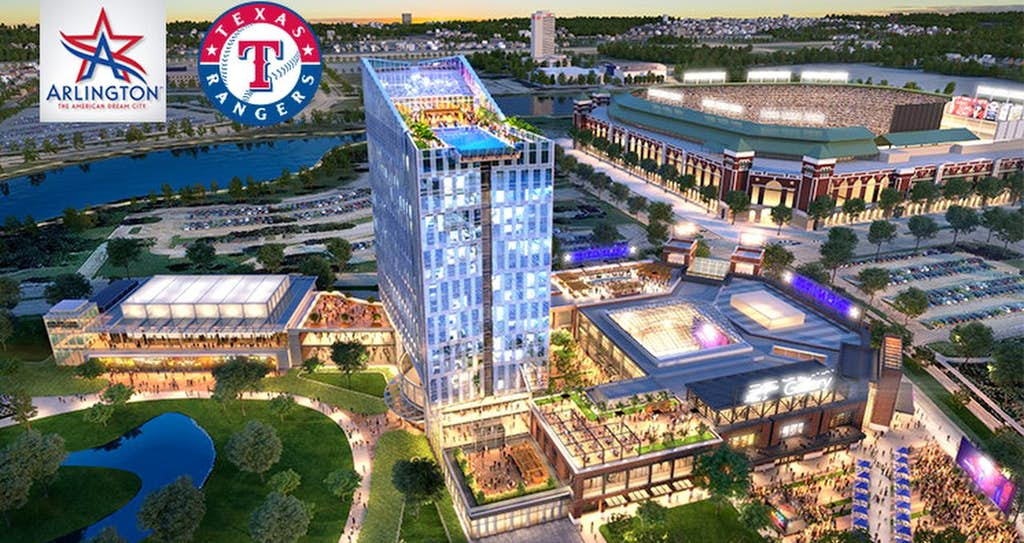 City Of Arlington And The Texas Rangers