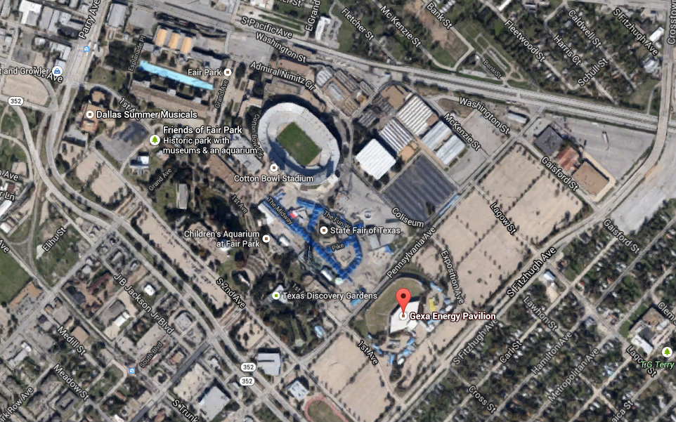 Fair Park Parking Map Proposal calls for a radical redo of Fair Park    and the State