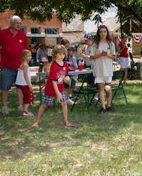 Dallas Heritage Village Junior Historians run the annual July Fourth carnival for kids.