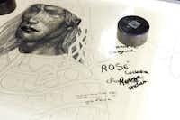 "Original Hermes ""Cosmongie Apache"" artwork"