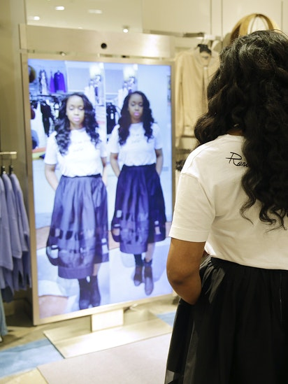 8eefda2519d High-tech fitting room  smart  mirrors could help you be the fairest one of  all