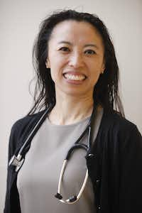 Portrait of Dr. May Lau, assistant professor at University of Texas Southwestern and an attending physican at the adolescent and young adult clinic at the Childen's Medical Center, has written a paper on factors associated with receiving the HPV vaccine. The paper will be published in the medical journal, Vaccine, later this year.