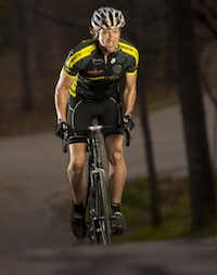 Greg Johnson, 54, of Corinth took up exercising and eventually became a triathlete after being diagnosed with stage IV colorectal cancer in 2006 and again in 2009.