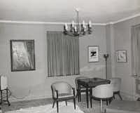 This photo, taken on Nov. 21, 1963, shows the living area of Suite 850 at the Hotel Texas in Fort Worth.