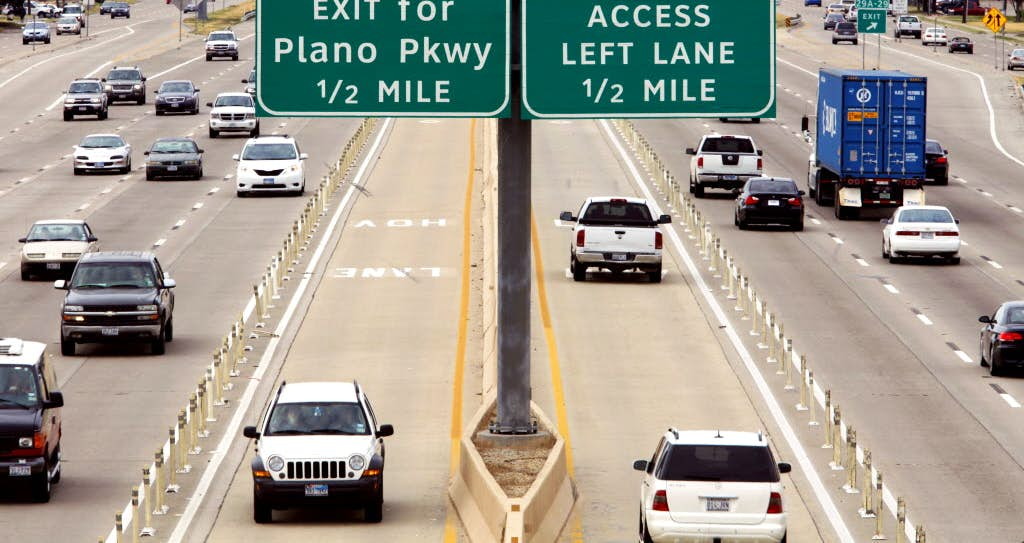 North Texas\' existing HOV lanes to remain free for vehicles with two ...