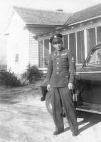 A young Henry Grady Stanley poses in full uniform after the war in 1945.(Photo submitted by DARYL STANLEY)