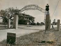 Hensley Field, shown in the late 1930s, has been home for decades to enterprises that left polluted soil and water.