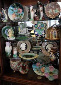 Majolica pottery