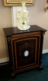 An antique console