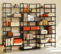 The  TFG Connections Bookcase  components can be configured a number of ways.