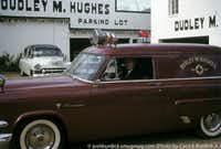 The Dudley M. Hughes Funeral Home in 1956