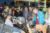 Radio operators browse booths at Hamfest, the Irving Amateur Radio Club's annual ham radio operator gathering. The club hosts Hamfest each March, bringing out hundreds of amateur radio enthusiasts.Photo submitted by the IRVING AMATEUR RADIO CLUB
