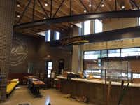 Whole Foods Market Taproom in Uptown Dallas (DMN Staff Photo Maria Halkias)