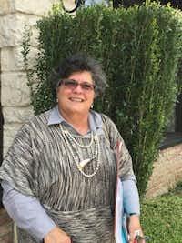 Hind Jarrah has spent decades teaching people in the U.S. about Islam. (Hunter Johnson/DMN)