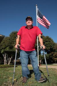 Collins volunteered to fight an unpopular war when he was 18. The Vietnam War took the lives of several of his friends and cost him his leg, but Collins says he'd enlist again.