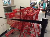 J.C. Penney is testing shopping carts at its store in Stonebriar Centre in Frisco. (Maria Halkias/Staff)