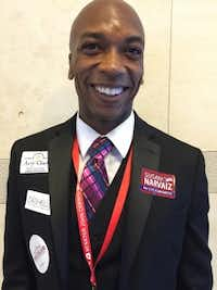 Henry Childs, a San Antonio attorney vying to become a national delegate representing Texas, said he had to rethink his reasons for going to the national convention after Sen. Ted Cruz's departure from the presidential race. (Katie Leslie/Staff)