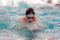 Rockwall swimmer Haylie Harbin will compete in the 500-yard freestyle at the state championships.(Staff photo by CHRIS DERRETT)